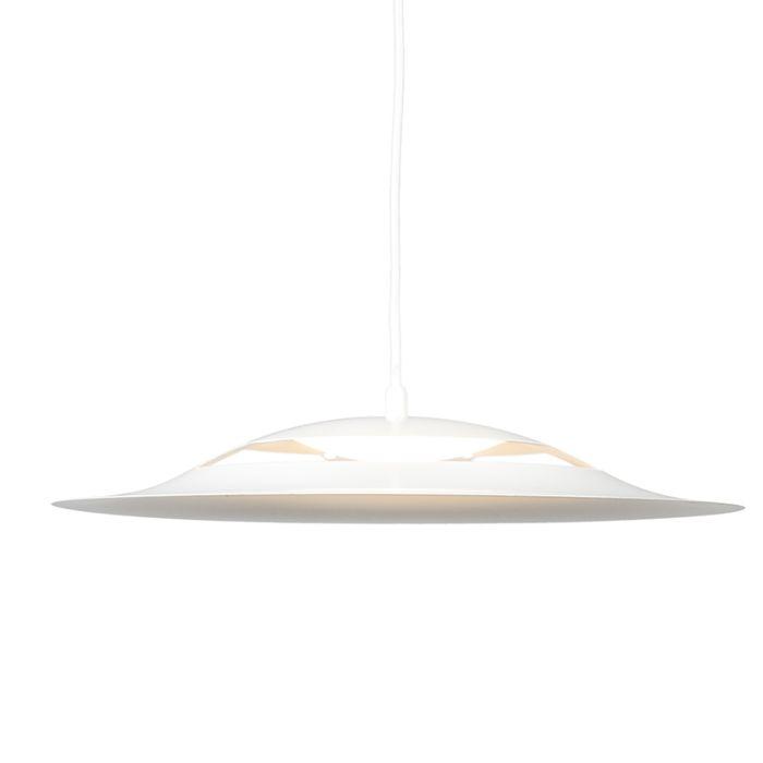 Hanglamp-Opal-wit-LED