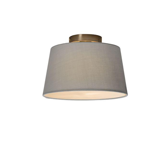 Plafonnière-Combi-30cm-grijs-met-blender