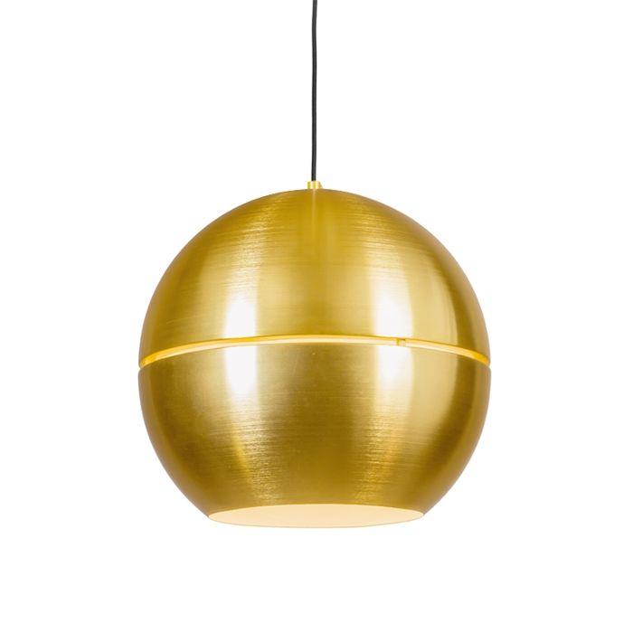 Retro-hanglamp-goud-40-cm---Slice