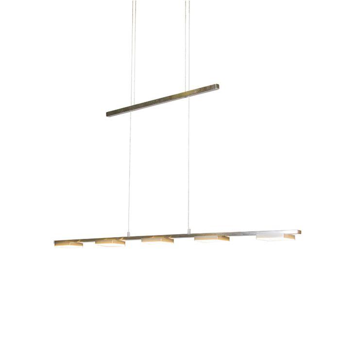 Hanglamp-Quadratic-5-staal