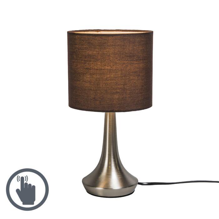 Tafellamp-Milo-1-rond-bruin