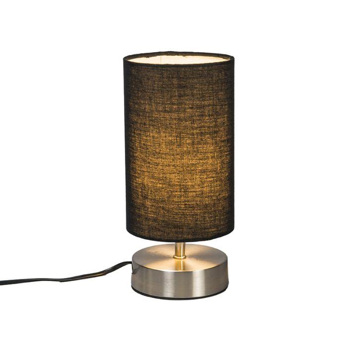 Tafellamp-Milo-2-rond-zwart