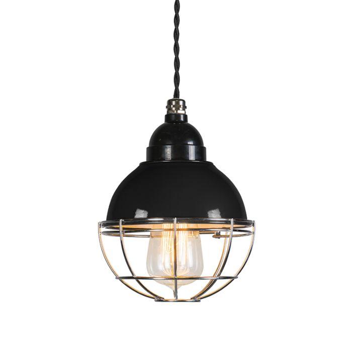 Hanglamp-Harbor-zwart
