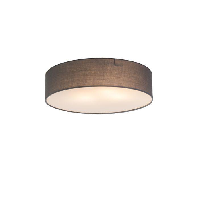 Plafonnière-Drum-Basic-40-grijs