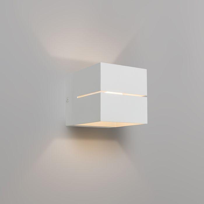 Moderne-wandlamp-wit---Transfer-2