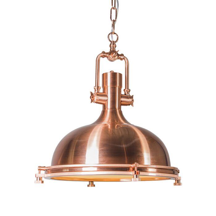 Hanglamp-Solid-koper-matte