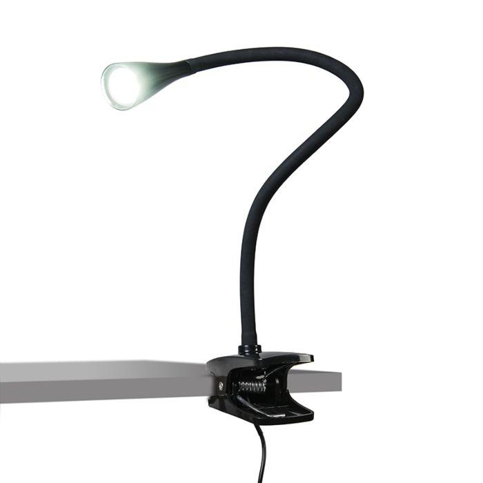 Klemlamp-Swan-zwart