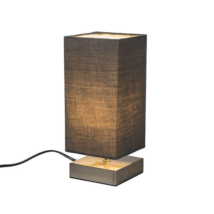 Tafellamp-Milo-vierkant-grijs