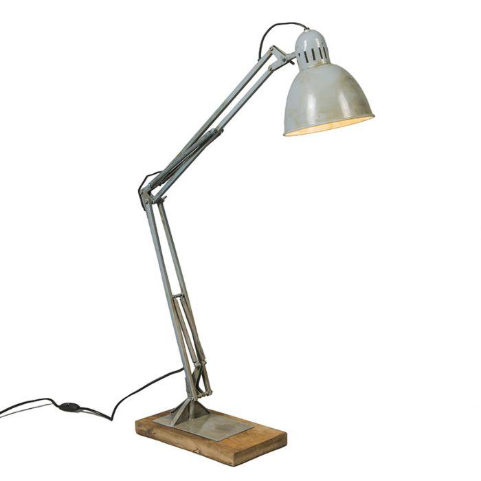 Tafellamp-Base-grijs