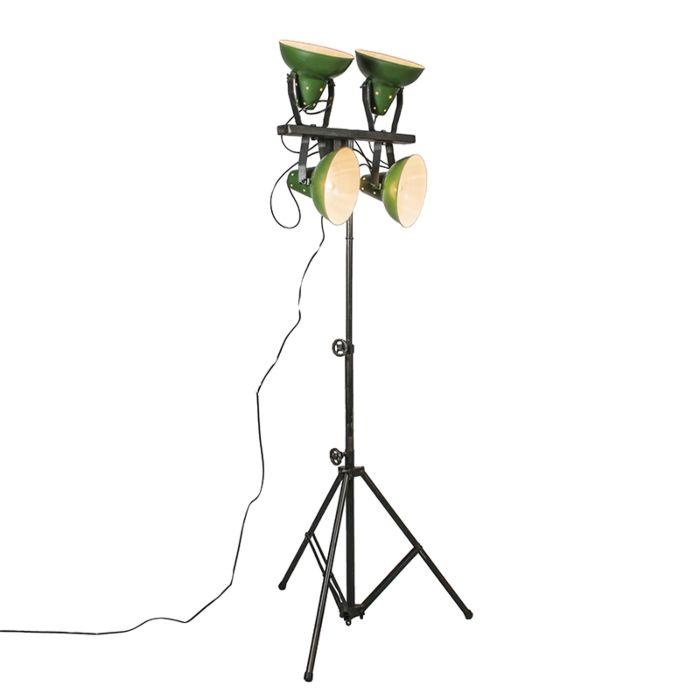 Vloerlamp-Pedestal-groen
