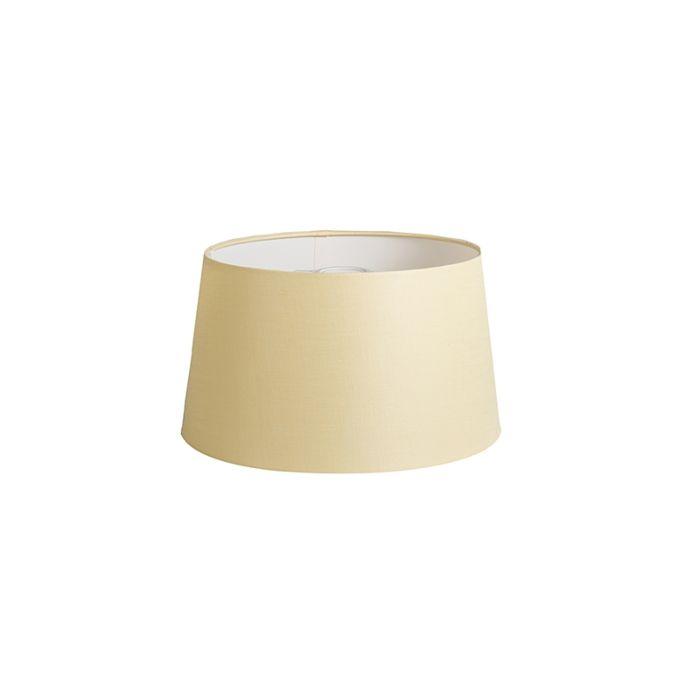 Kap-35cm-rond-DS-E27-linnen-creme