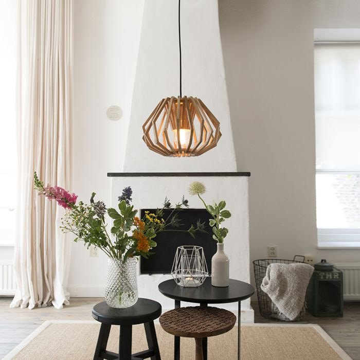 Hanglamp-Mirlo-hout