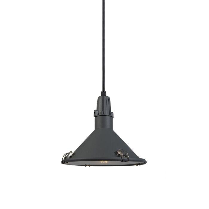 Industriële-hanglamp-grijs-IP44---Vida