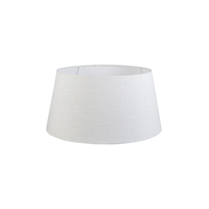 Linnen-lampenkap-wit-50/40/26
