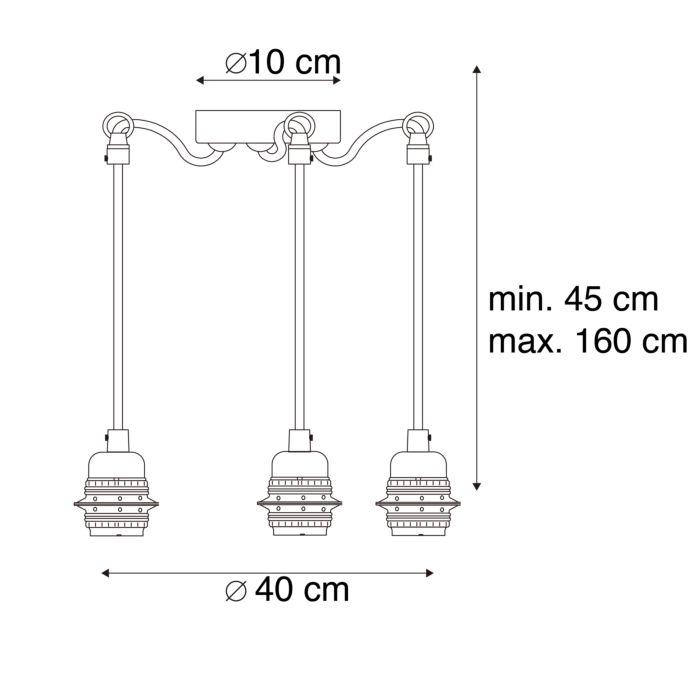 Moderne-hanglamp-zwart---Cava-3-