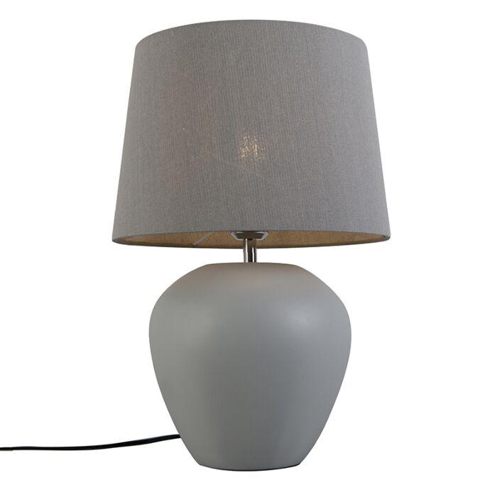 Tafellamp-Pedro-1-grijs