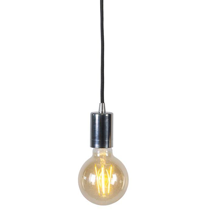 Moderne-hanglamp-chroom---Facil-1-