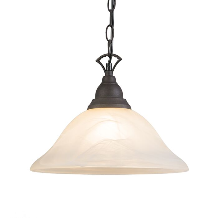 Vintage-hanglamp-roestbruin---Dallas