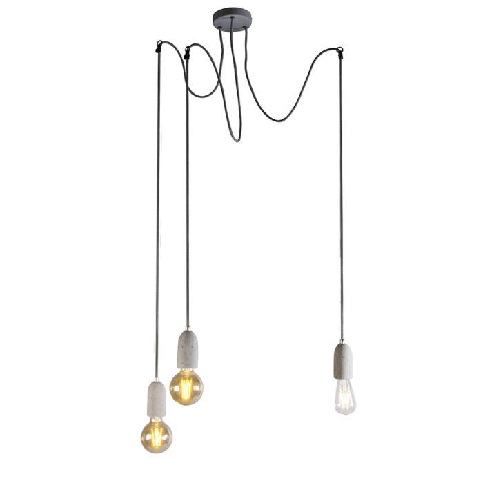 Moderne-hanglamp-grijs-beton---Cava-3