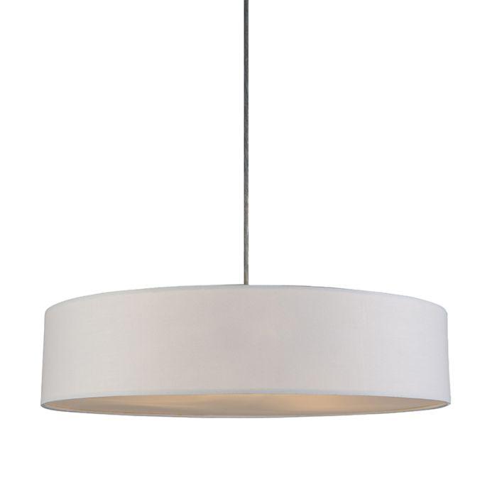 Hanglamp-Drum-Basic-50-creme