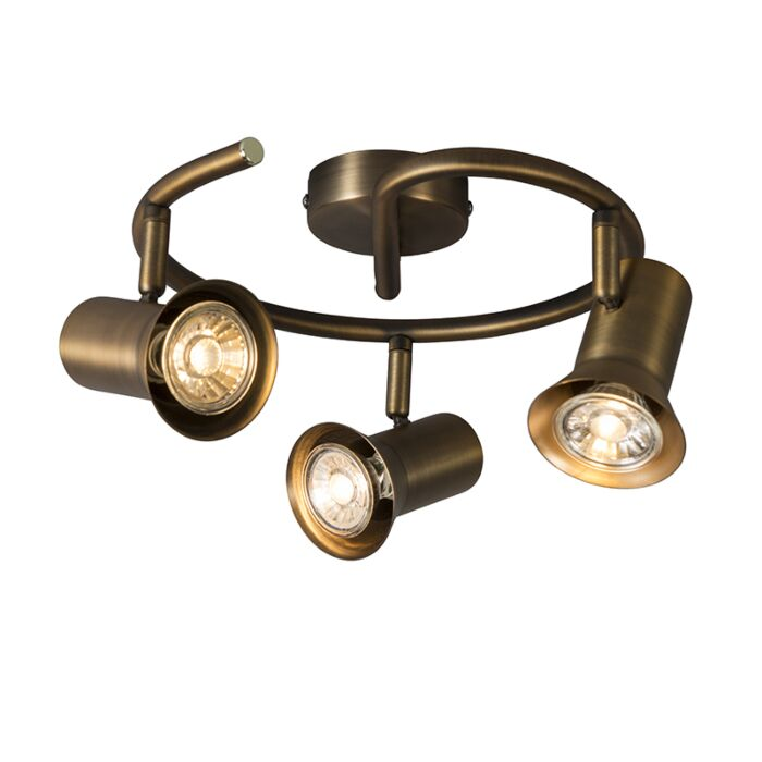 Plafondspot-brons-draai--en-kantelbaar-krul---Karin-3