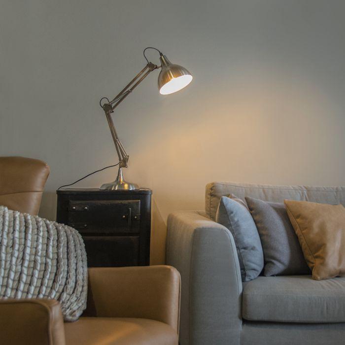 Tafellamp-Hobby-staal
