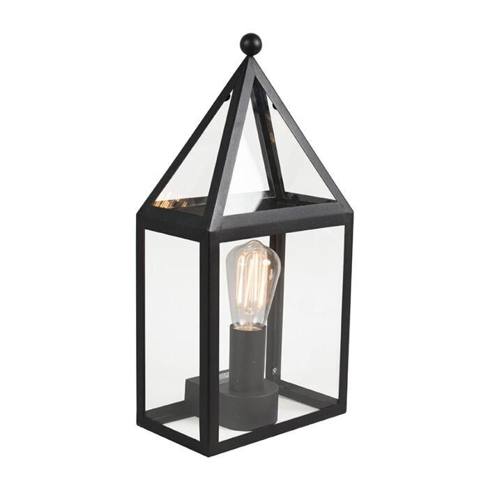 Landelijke-buitenwandlamp-zwart---Amsterdam-2