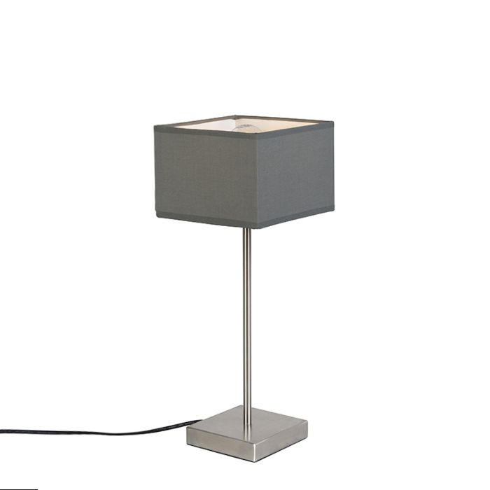 Moderne-tafellamp-grijs---VT-1