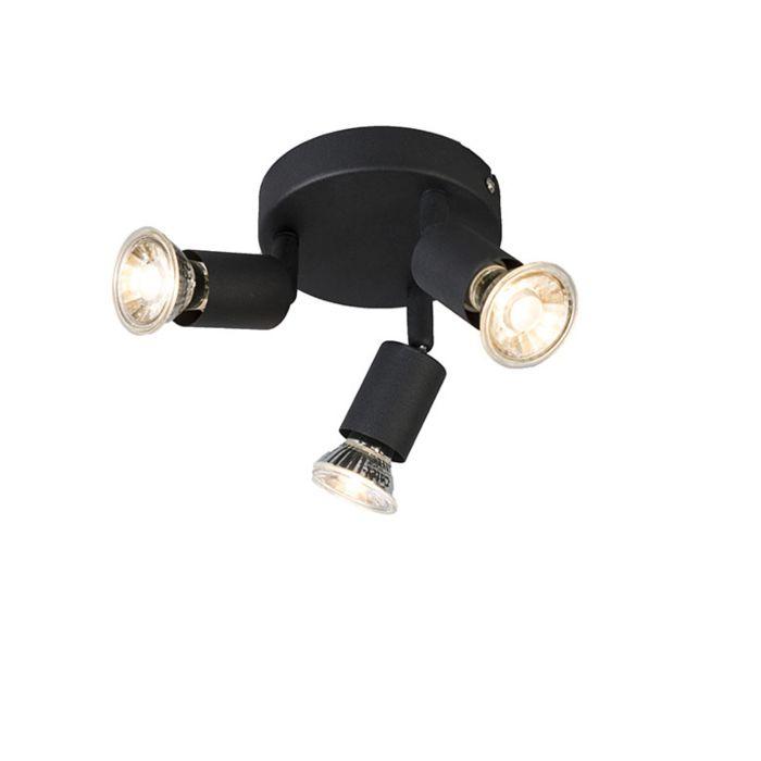 Industriële-spot-zwart-kantelbaar-rond---Jeany-3