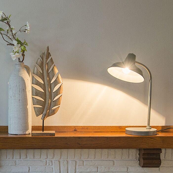 Industriële-tafellamp-grijs-verstelbaar---Pixa
