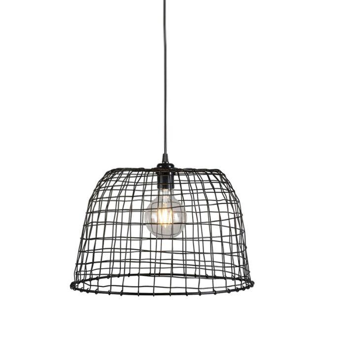 Hanglamp-Basket-40-zwart