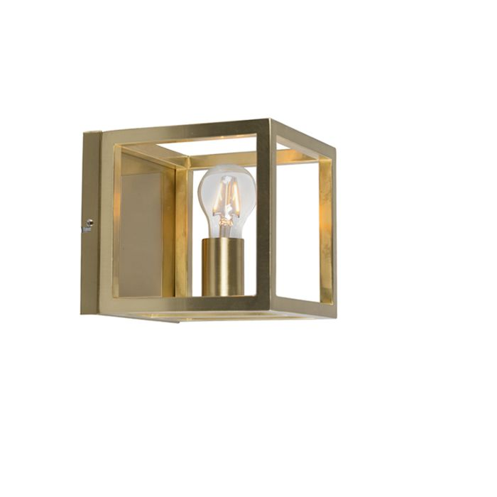 Wandlamp-Cage-1-goud