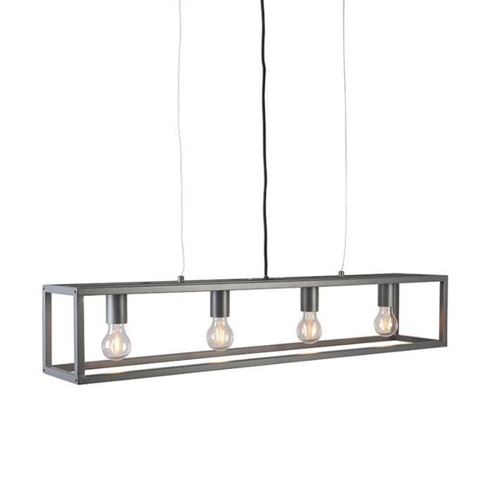 Moderne-hanglamp-antraciet---Cage-4