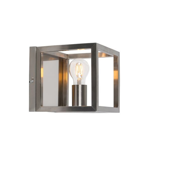 Wandlamp-Cage-1-staal