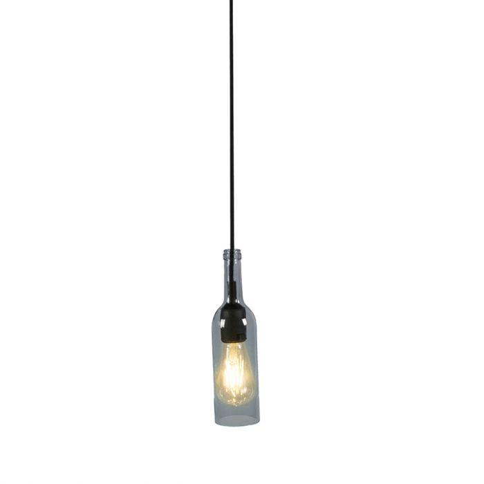 Hanglamp-Bottle-grijs