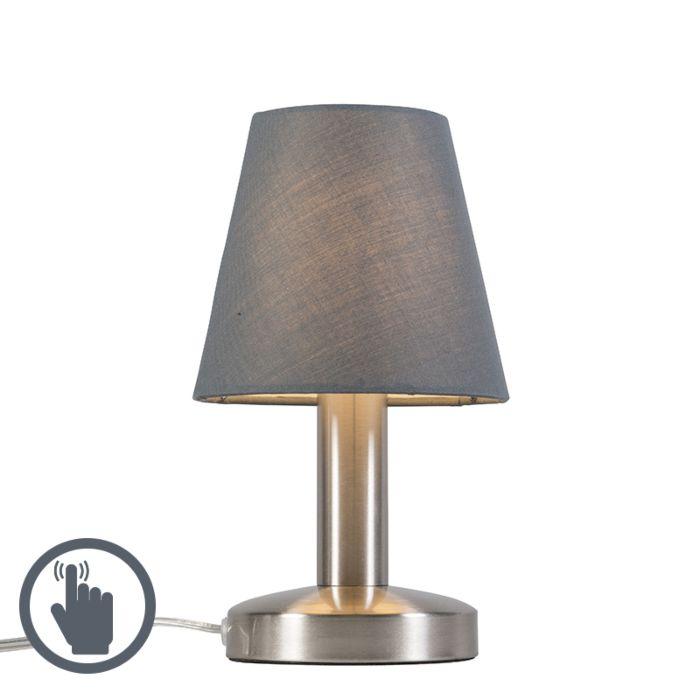 Tafellamp-Bello-Touch-grijs