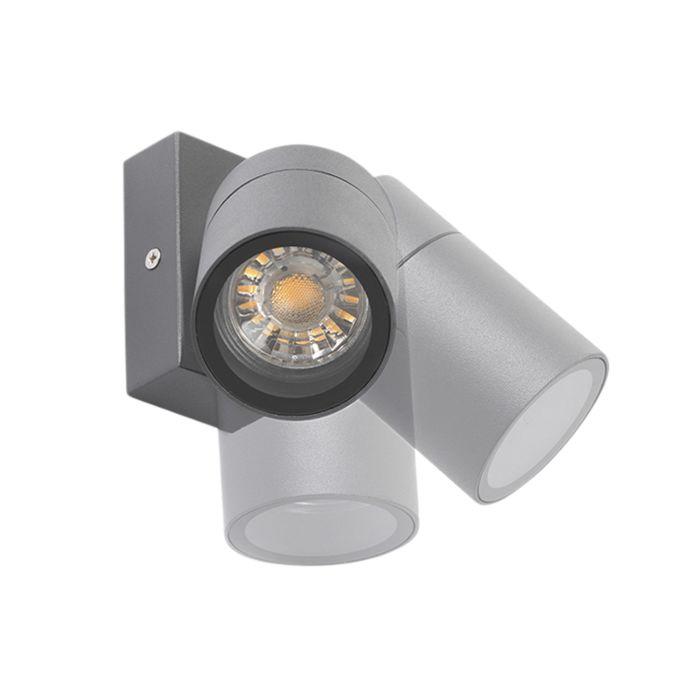 Buitenwandlamp-antraciet-IP44-draai--en-kantelbaar---Solo