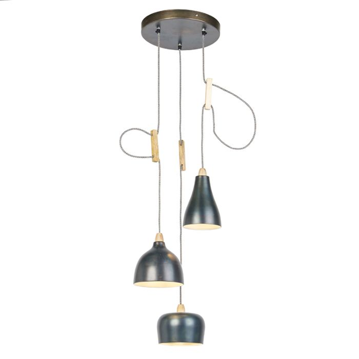Design-hanglamp-zink-met-3-lichtpunten---Vidya