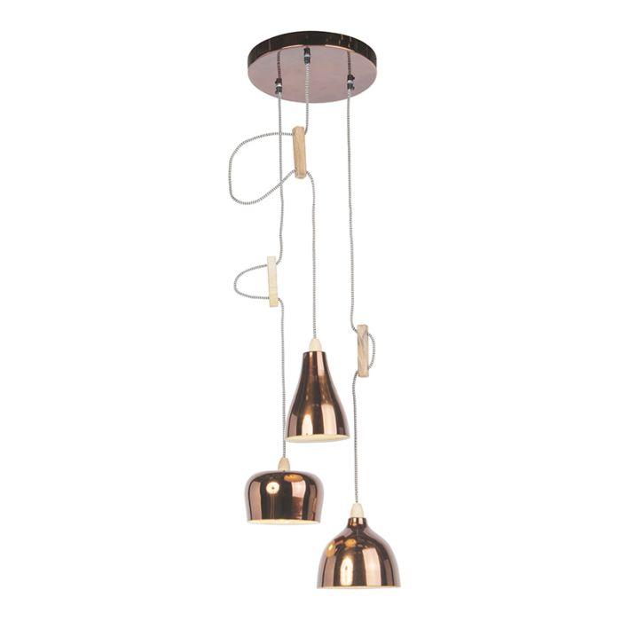 Design-hanglamp-koper-3-lichts-verstelbaar---Vidya