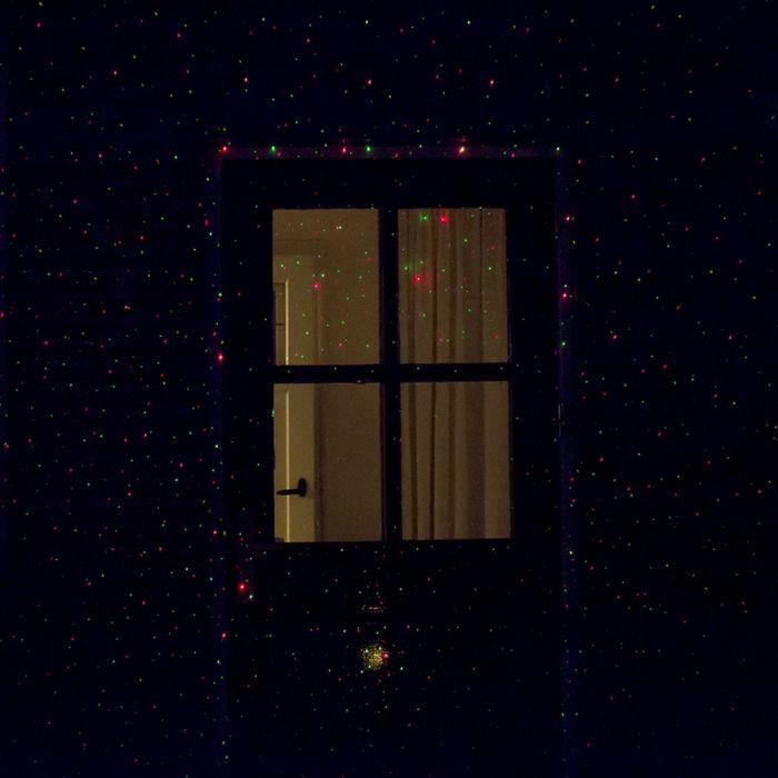 Kerstverlichting-Laser-projector-LED-rood-met-groen-9-standen