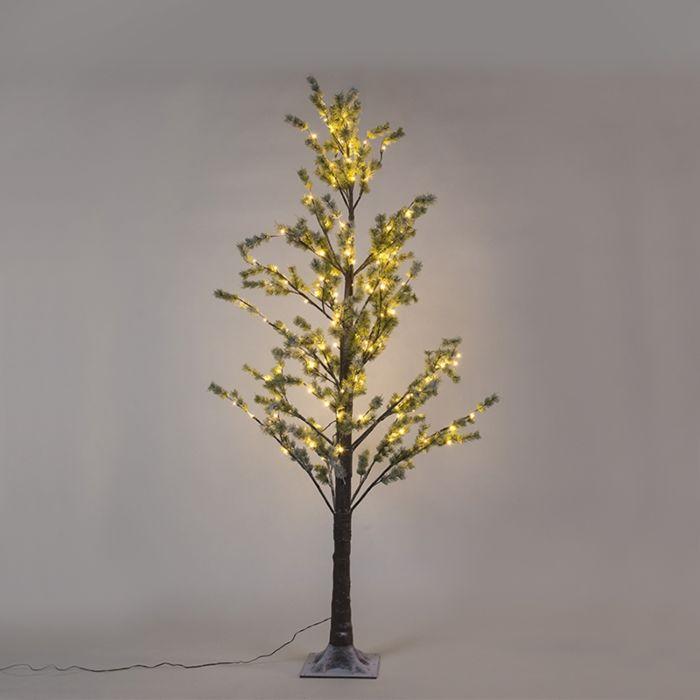 Kerstverlichting-dennenboom-Snow-LED-warm-wit-2,1-meter
