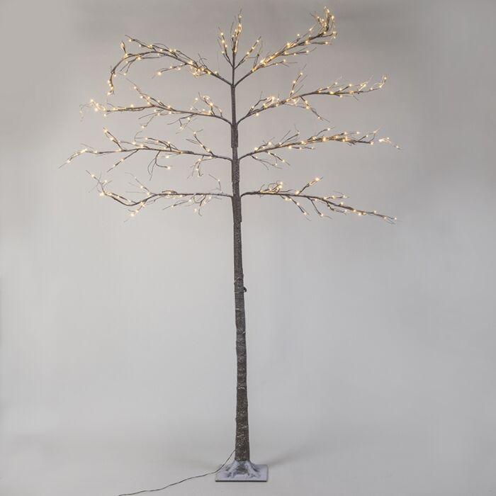 Kerstverlichting-Leiboom-Snow-LED-warm-wit-2,4-meter