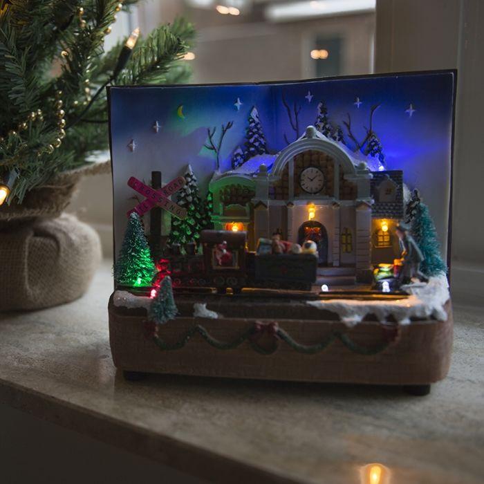 Kersthuisje-Boek-LED-multikleur