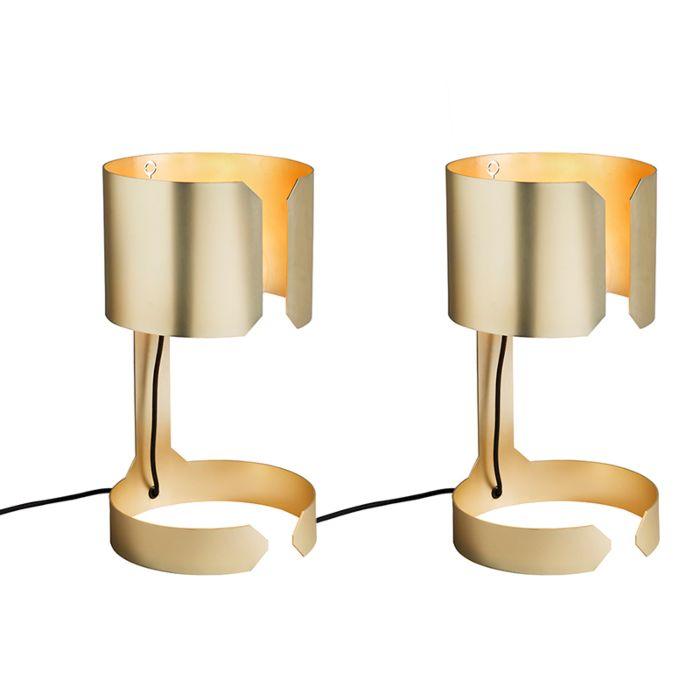 Set-van-2-design-tafellampen-mat-goud---Waltz
