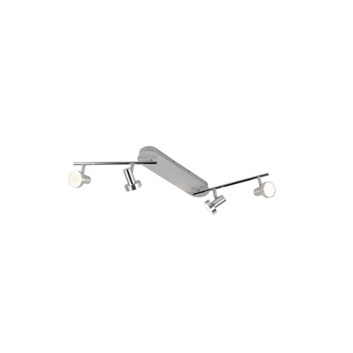 Moderne-langwerpige-spot-geborsteld-aluminium-incl.-LED---Cartney