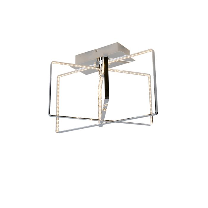 Design-plafondlamp-chroom-incl.-LED---Circus