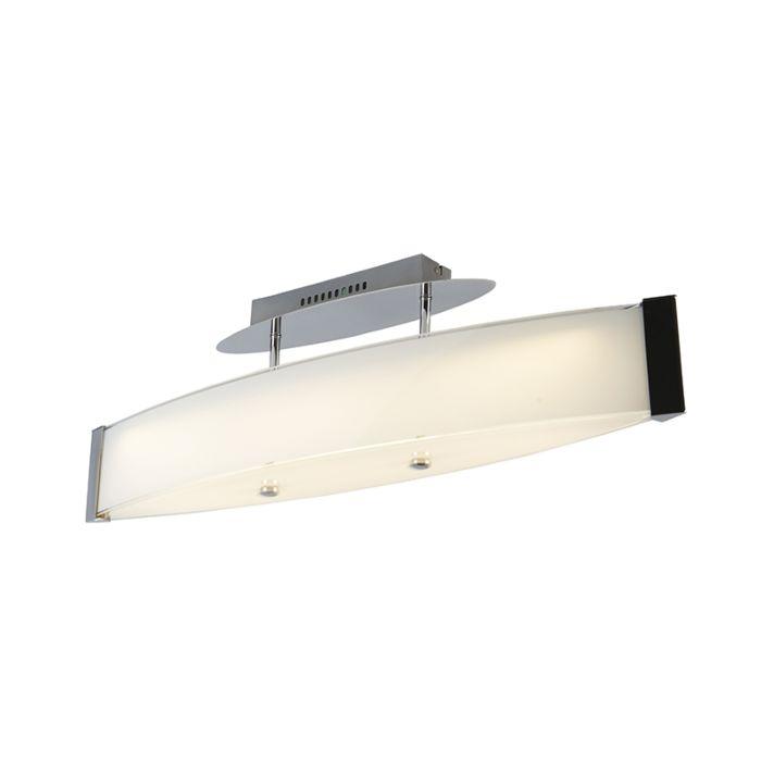 Design-plafondlamp-chroom-met-glas-incl.-LED---Tabby