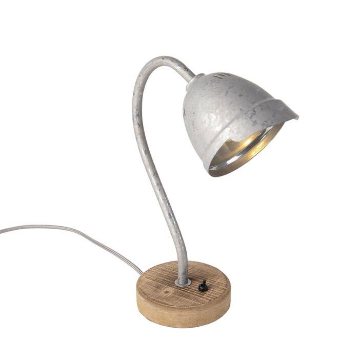 Landelijke-tafellamp-staal---Rax