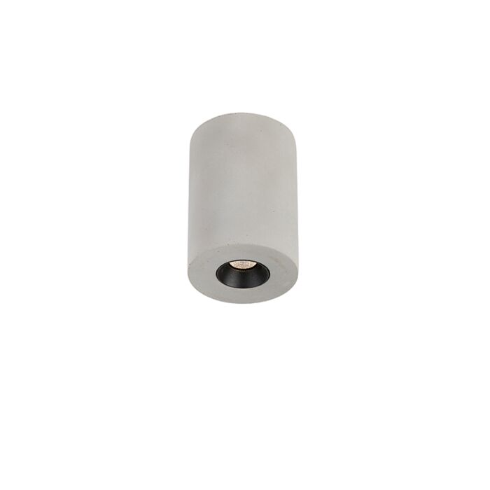 Industriele-ronde-spot-beton-incl.-LED---Pipe