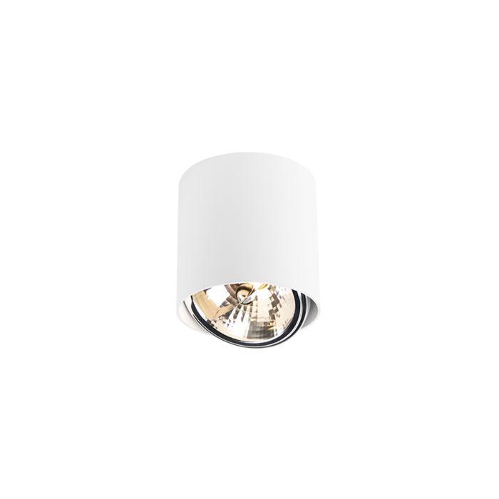 Design-spot-cilinder-wit-incl.-LED---Impact-Up-G9
